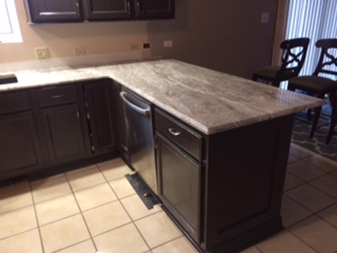Lynwood House remodel by Granite Mountain. Come visit our us in either Bourbonnais or New Lenox Illinois!