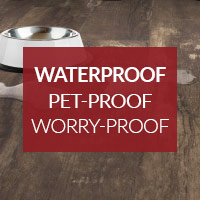 Waterproof, Pet-Proof, Worry-Proof Flooring On Sale